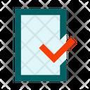 File Document Check Icon