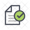 Check File Check Document Approved Document Icon