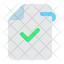Approved File Approved File Icon