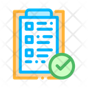 Tablet Clip Approved Icon
