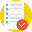 Approved List Document Icon