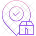 Mapproved Logistics Location Approved Logistics Location Logistics Location Icon