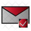 Mail Check Message Icon