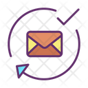 Isent Mail Approved Approved Mail Approved Email Icon