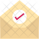 Approved Message Email Inbox Icon