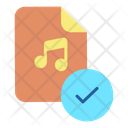 Approved Music File Icon
