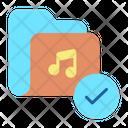 Imusic Folder Approved Music Folder Approved Song Folder Icon