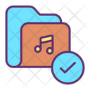 Approved Music Folder Icon