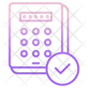 Password Approved Pin Approved Password Check Password Icon