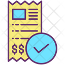 Approved Payment Payment Done Invoice Paid Icon