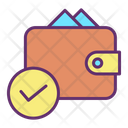 Approved Payment Wallet Icon