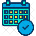 Approved Verify Schedule Icon