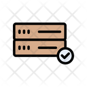 Server Database Security Icon
