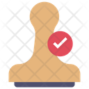 Approved Stamp Icon