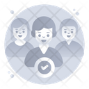 Approved Persons Approved Team Select Candidate Icon