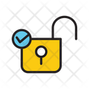 Apprved Lock Right Password Checked Lock Icon