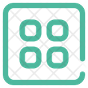 Grid Display Menu Icon