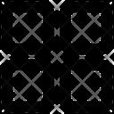 Mobile Web Grids Icon