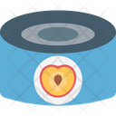 Apricot Canned Fruit Canned Peach Icon