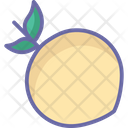 Apricot Food Fruit Icon