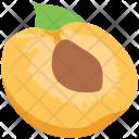 Apricot Peach Fruit Icon