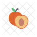 Apricot Peach Fruit Icon