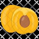 Apricot Fibre Sweet Icon