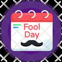 Fools Day Agenda Calendar Fools Day Calendar Icon