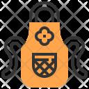 Apron Cloth Protection Icon