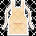 Apron Chef Apron Cook Uniform Icon