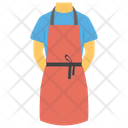 Apron Chef Apron Cooking Garments Icon