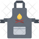 Apron Grill Barbecue Icon