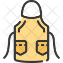Apron Chef Baked Icon