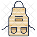 Apron Chef Kitchen Icon