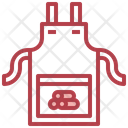 Apron Uniform Carpenter Icon