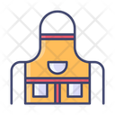 Apron Cooking Craft Icon