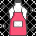 Apron Body Apron Artist Apron Icon