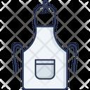 Apron Uniform Kitchen Icon