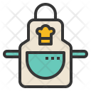 Apron Clothes Kitchen Icon