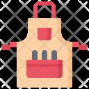 Apron Tool Hobby Icon