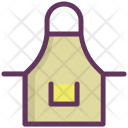 Apron Clothing Cook Icon