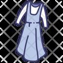 Apron Dress Icon