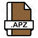 Apz File Zix File File Format Icon