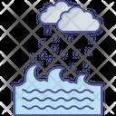 Aqua Ocean Sea Icon