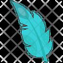 Aqua Feather Icon