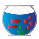 Aquarium Fish Jar Icon