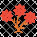 Aquatic Plant Flowering Icon