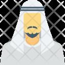 Arab Man Arabian Icon