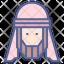 Muslim Man Gulf Icon