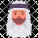 Man Avatar Arab Icon